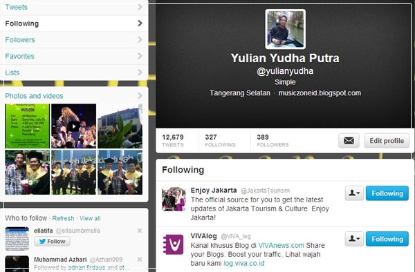 Follow V Log & Enjoy Jakarta