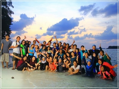 Sunset di Pulau Panjang Bersama TravelHolic
