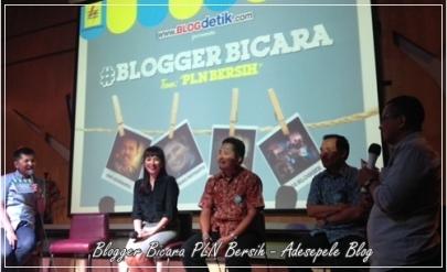 Blogger Bicara PLN Bersih