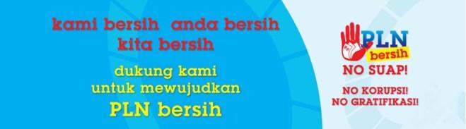 PLN Bersih, NO SUAP!