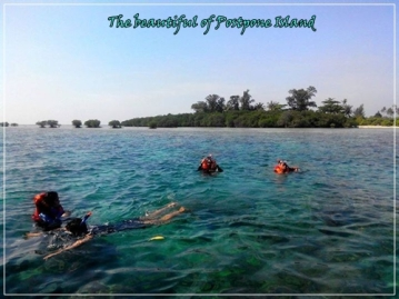 The beautiful of Postpone Island