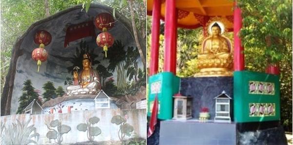 Patung Budha & Dewi Kuan Yin