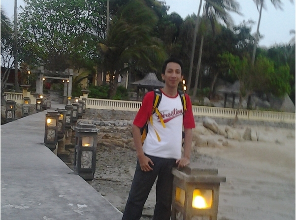 Me at Parai Beach